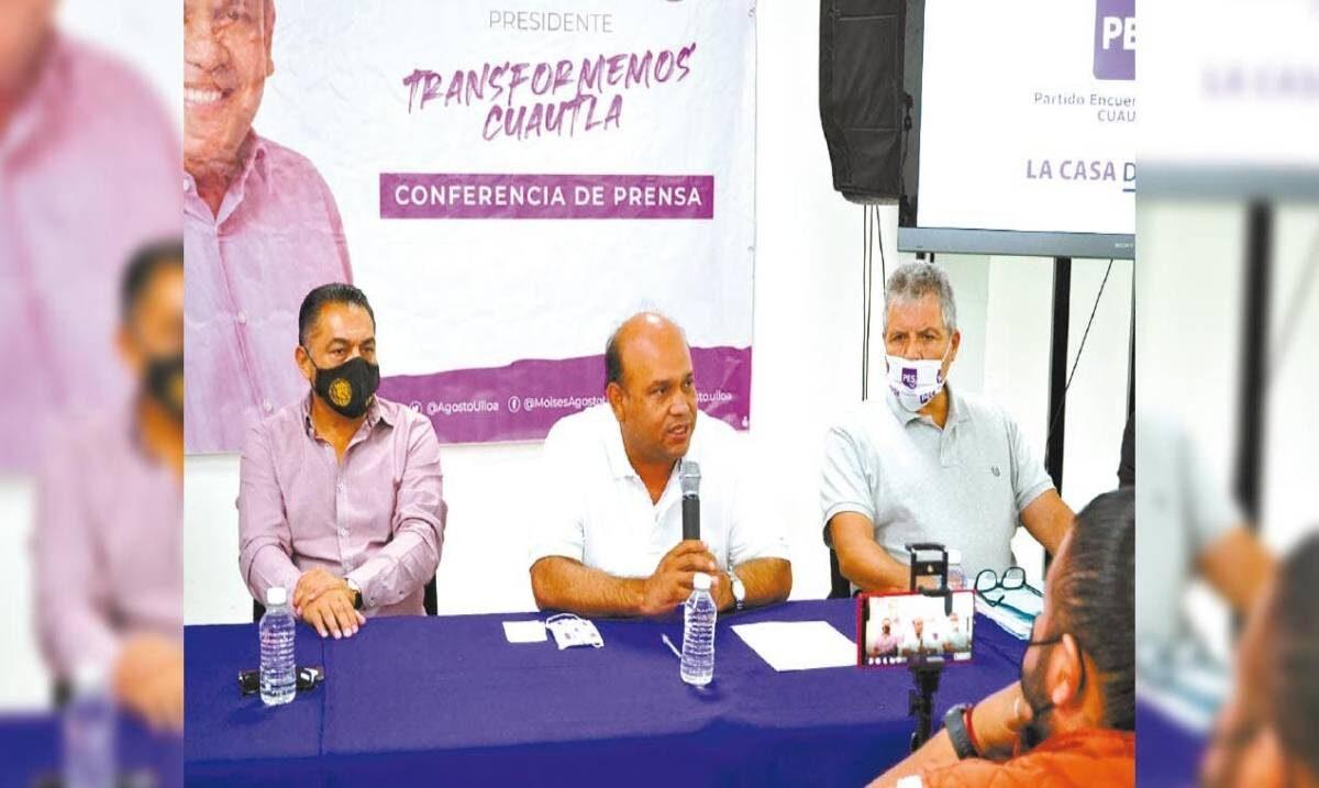 Moisés Agosto ofrece para Cuautla un gobierno eficiente y transparente