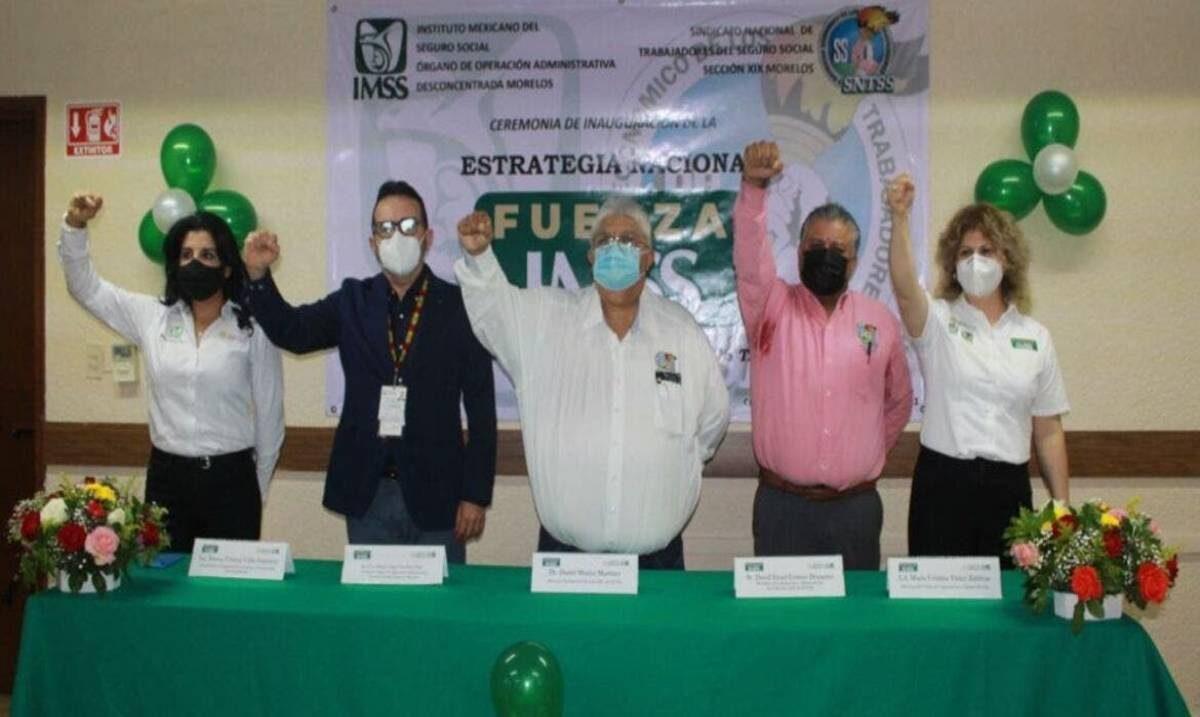 Inicia Fuerza IMSS en Morelos para el fortalecimiento emocional del personal