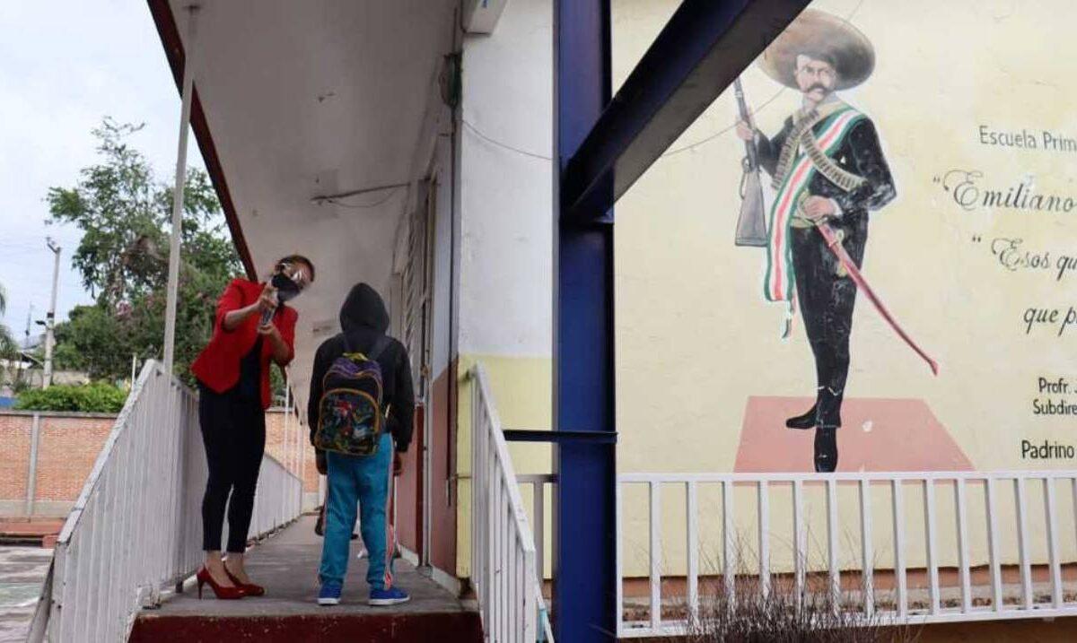 Así fue el regreso a clases en escuelas de Morelos