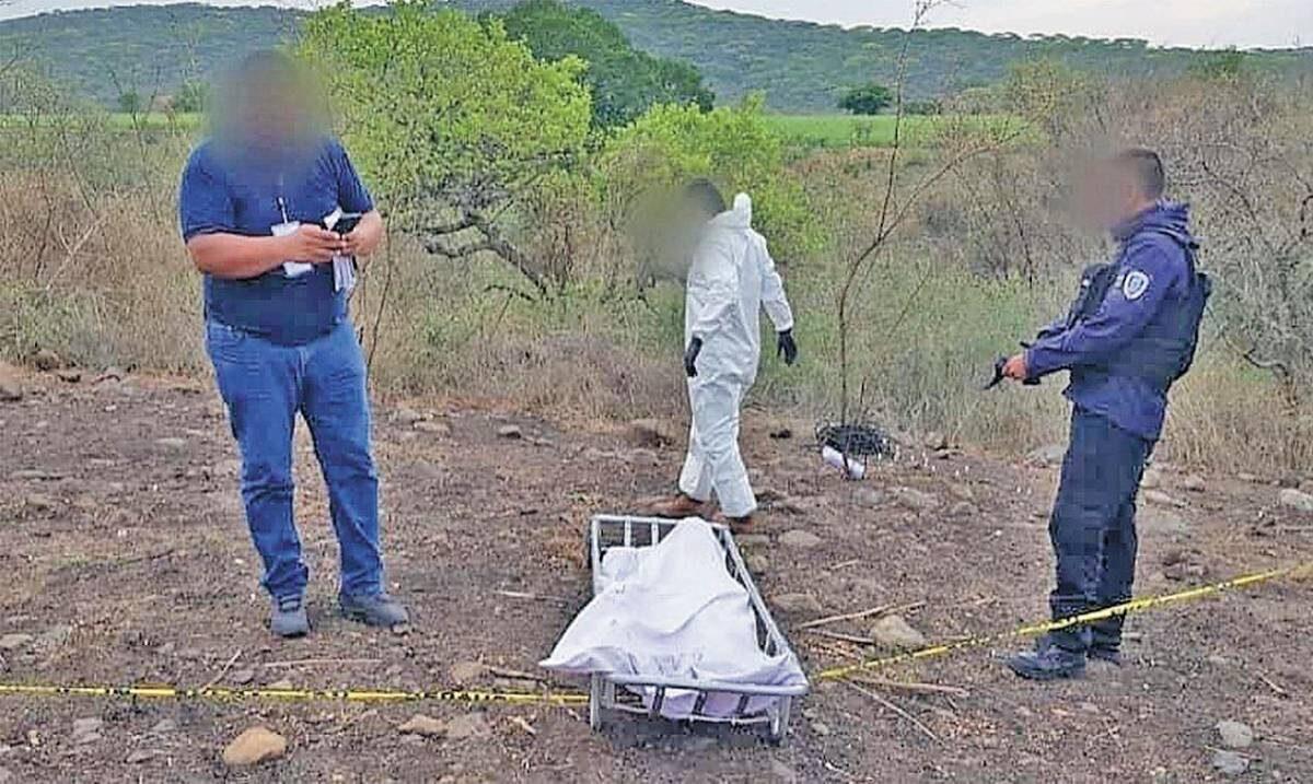 Hallan restos humanos en campos de Ayala