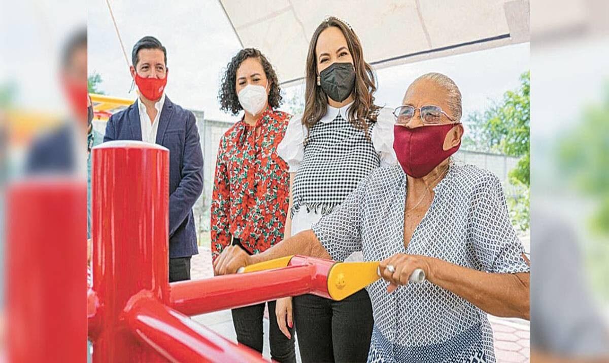 Inaugura DIF Morelos gimnasios inclusivos