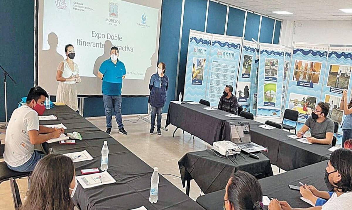 Dan curso sobre la importancia de la hidratación en Morelos