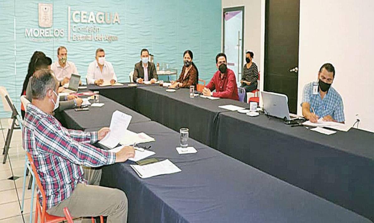 Participa Ceagua en sesión de Comité de Desarrollo