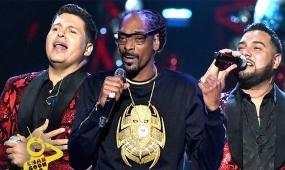 Snoop Dogg y Banda MS juntos en concierto