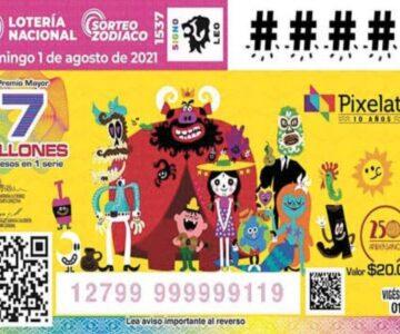 Emiten billete por conmemoración del Festival Pixelatl
