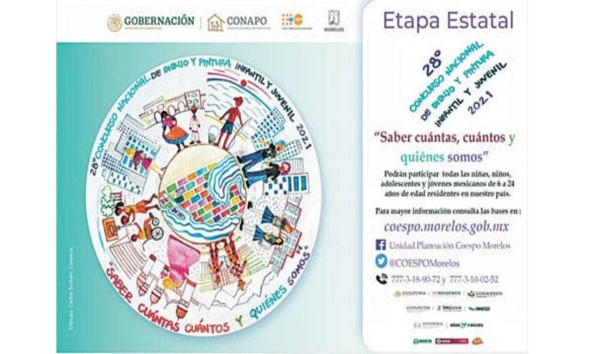 Anuncia concurso nacional de dibujo para infantil y juvenil