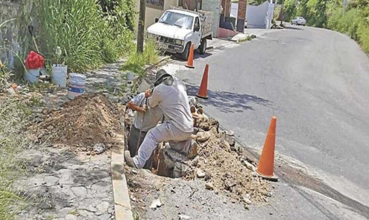 Fue día de reparar fugas en Cuernavaca