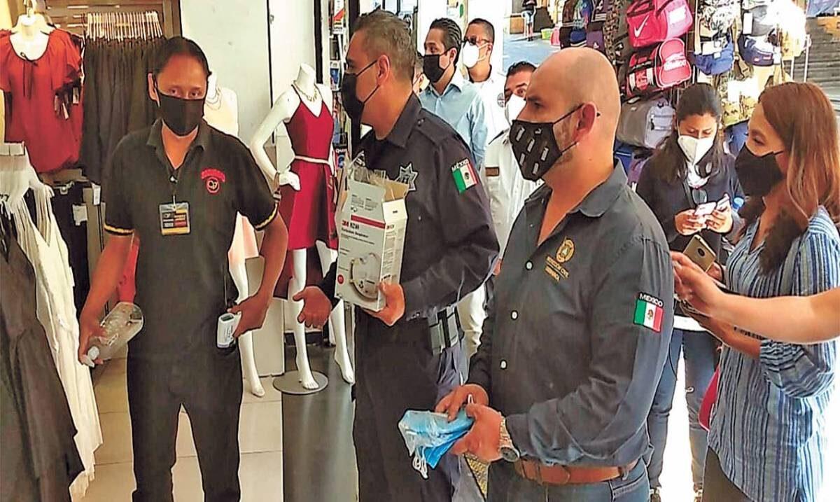 Intensifican Protección Civil y SSP Cuernavaca recorridos de sensibilización frente a COVID-19