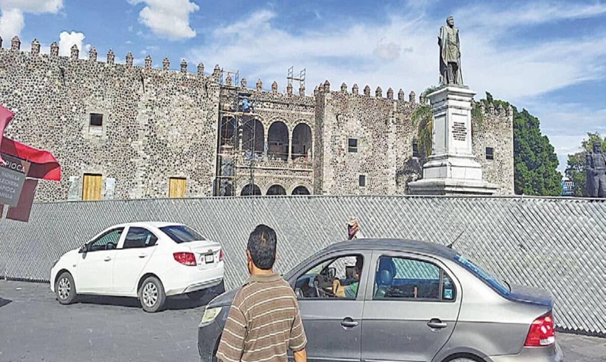 Restauración del Palacio de Cortés va al 85%