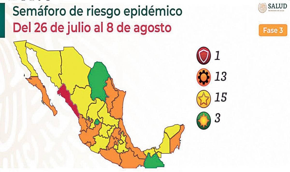 Regresa Morelos al amarillo ante alza de contagios