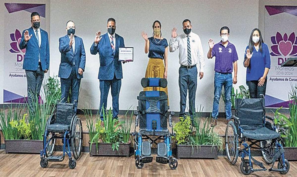 Apoya DIF Morelos a personas con discapacidad