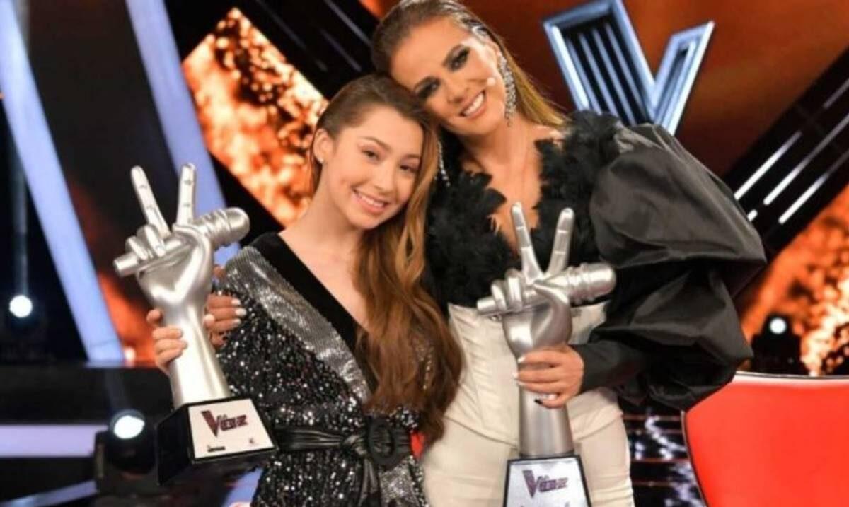 """Sherlyn Sánchez, la joven de 19 años que ganó """"La Voz"""""""