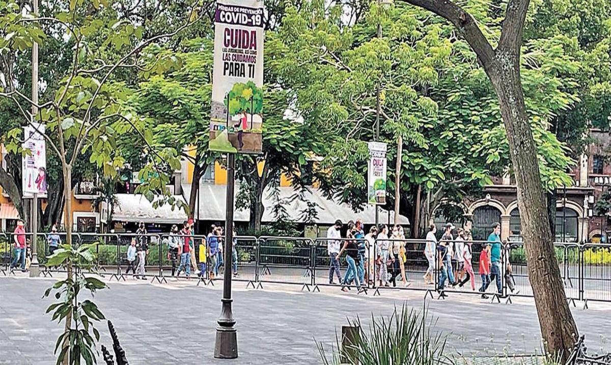 Mantiene Centro de Cuernavaca movilidad de fin de semana