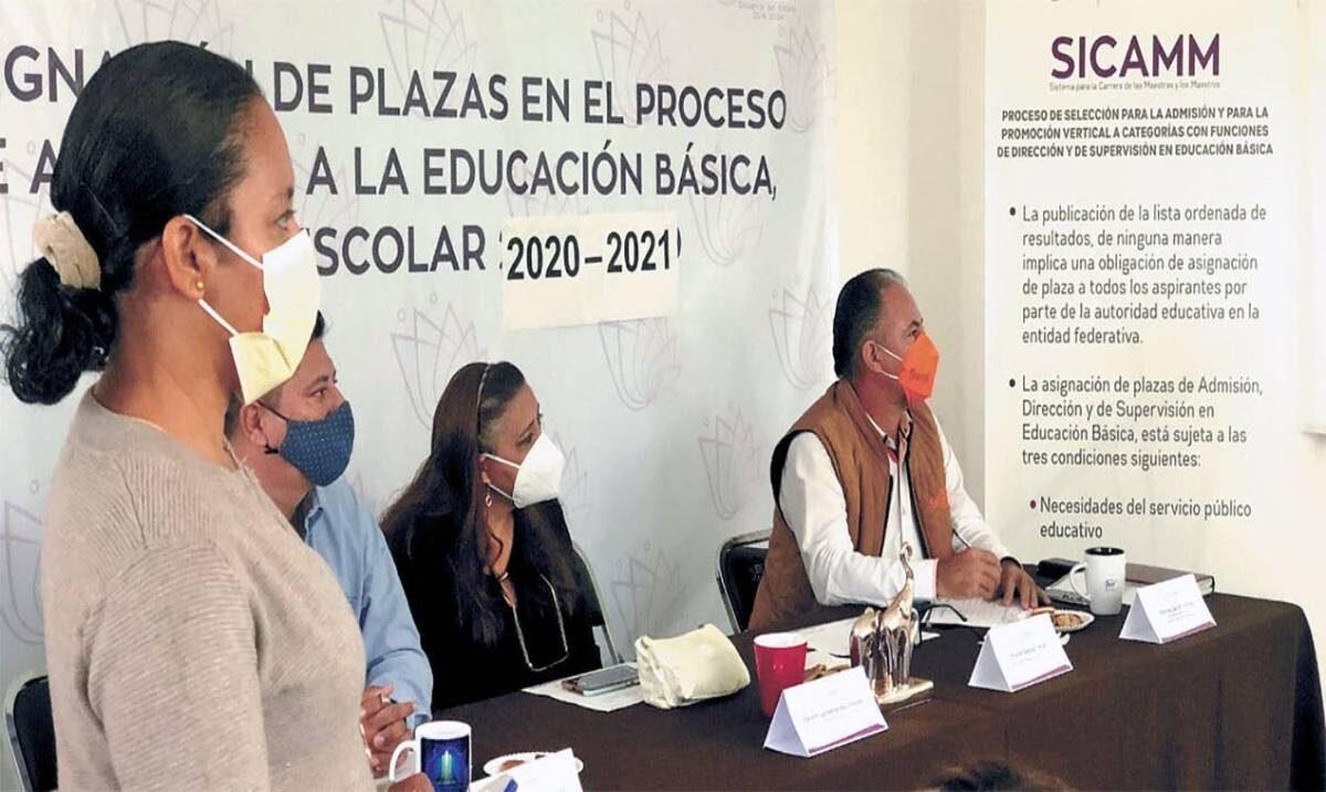 Asigna IEBEM 50 plazas de maestros en Morelos