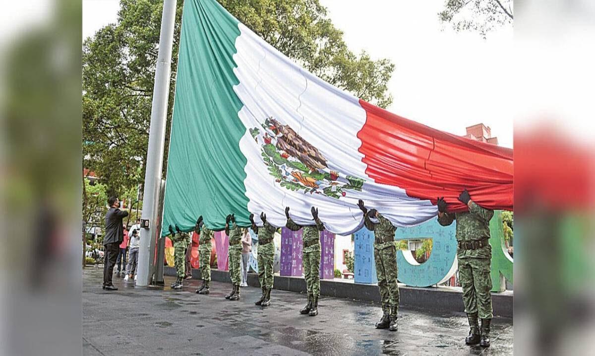 Bandera de México, la más bonita de todo el mundo