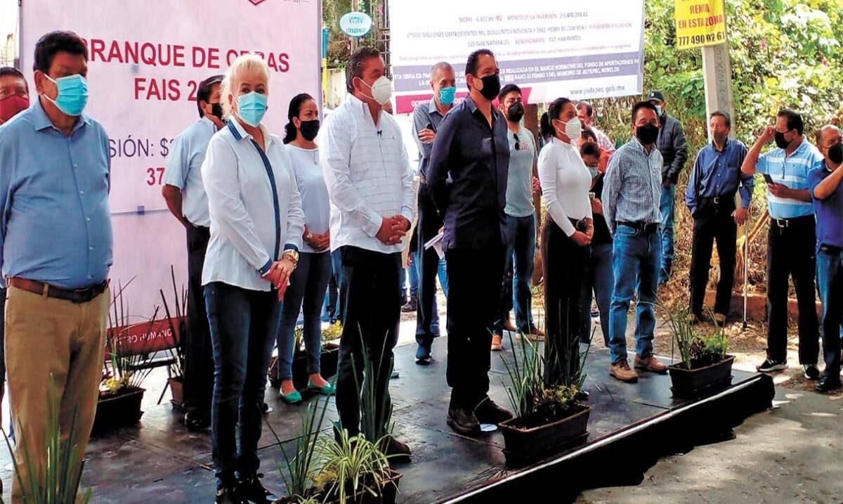 Comienza Jiutepec obras de impacto social