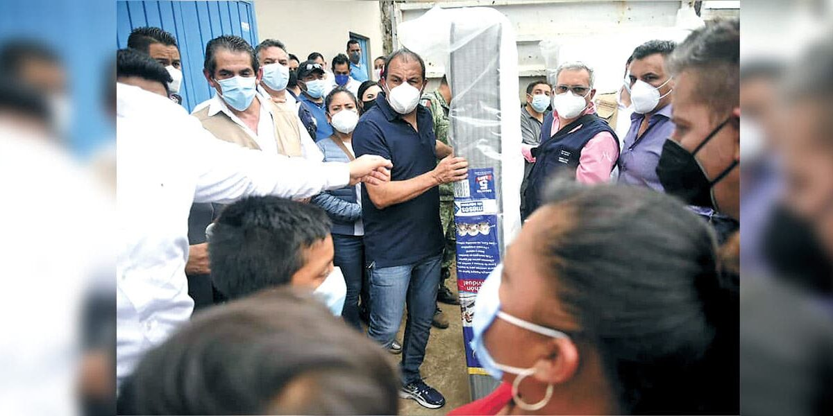Instruye Ejecutivo a realizar censo de afectados por las lluvias en Morelos