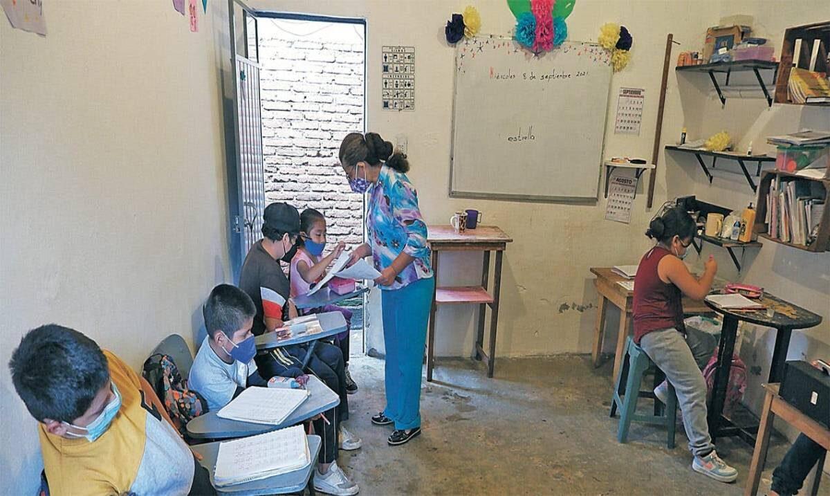 Piden ayuda para la casa comunitaria 'Maestra Nachita'