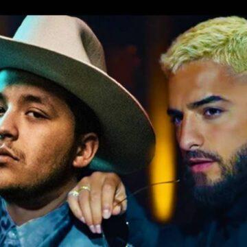 Filtran dueto prohibido entre Maluma y Christian Nodal.