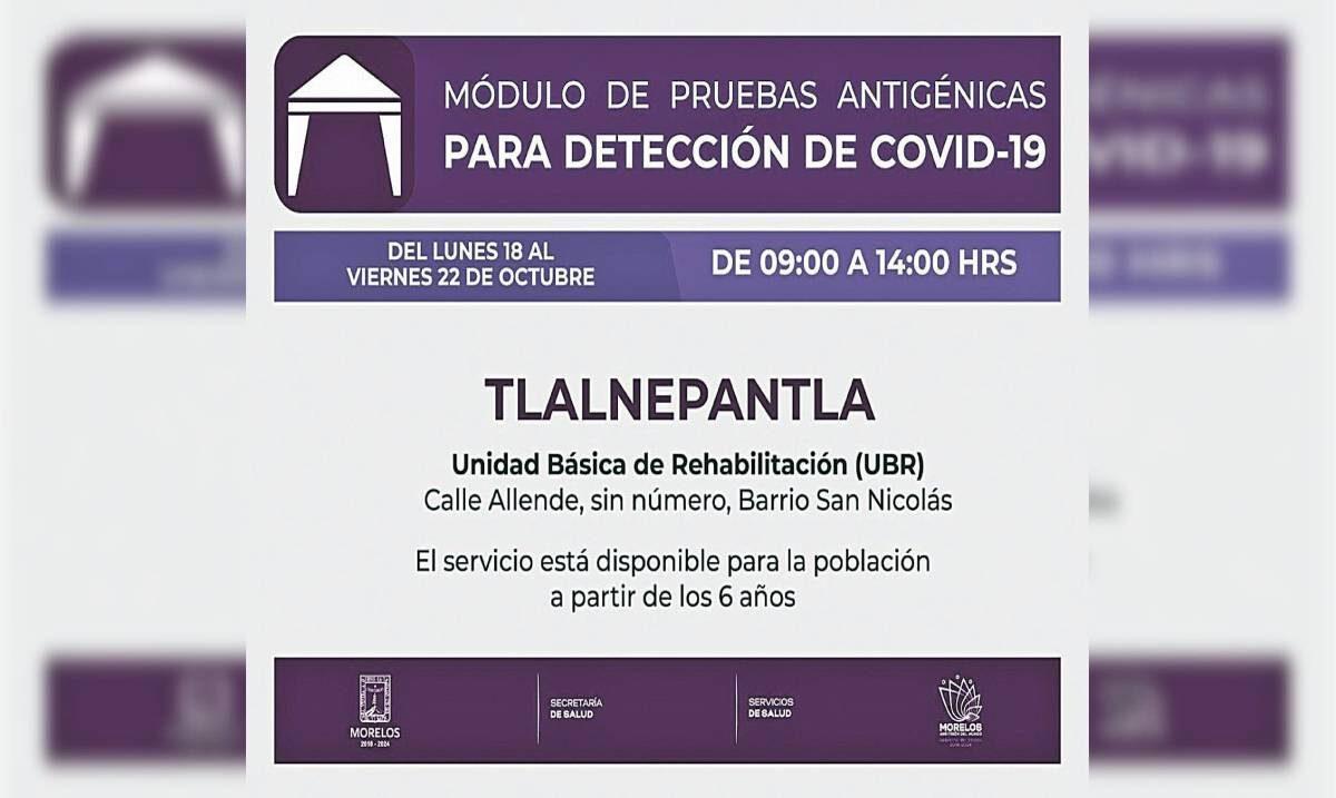 Realizan test de COVID en Tlalnepantla