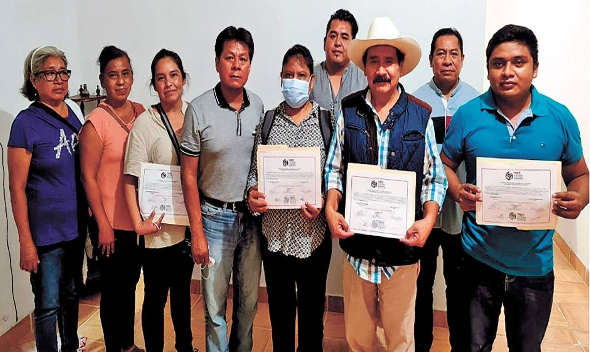 Confirman a planilla rosa como triunfadora en elecciones de Coatetelco