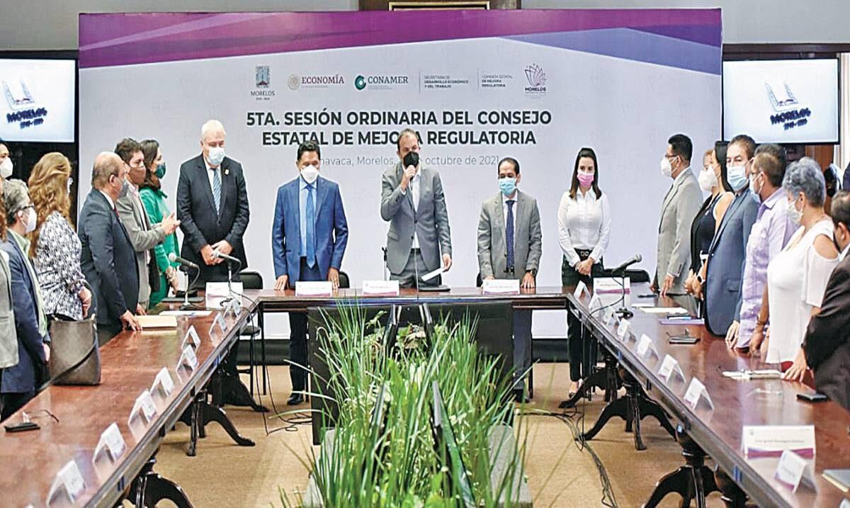 Presenta Mejora Regulatoria portal web Expediente Único Ciudadano