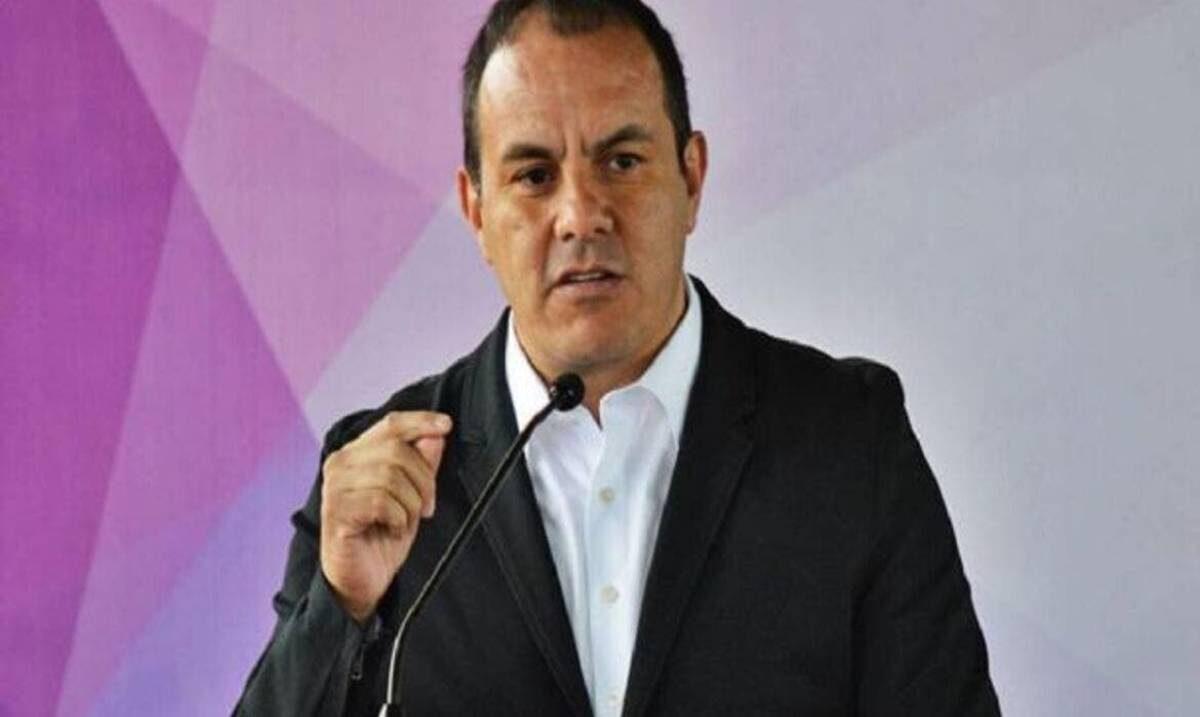 Reconoce Gobernador Cuauhtémoc Blanco intrusión a su cuenta de Whatsapp